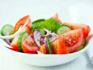 салат со сметаной